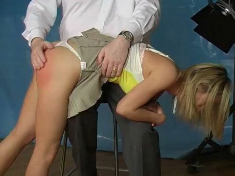 Spanking Red Ass Tampon String