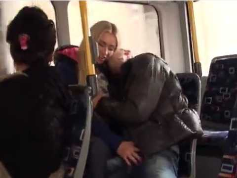 Shameless Blonde Allowed Her Ass To Be Torn Apart In Front Of All The Passengers