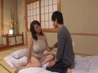 Japanese Busty Mom And Not Her SOn