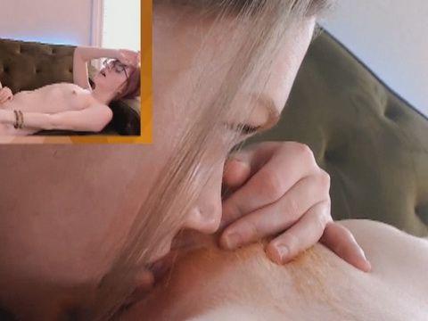 Cute Lesbian Gets Down on Her Girlfriend