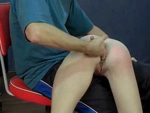 Young Babe Spanking and Ass Hole Fingering by Sadistic Man