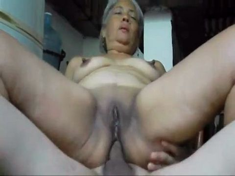 Latina Granny Suck and Anal Fuck