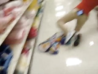 Dick Flash for skinny asian Target employee
