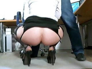On Her First Office Job Natalie Hot Gets Some Anal Office DP