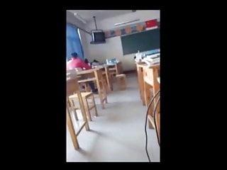 0043 She sucks cock in the classroom