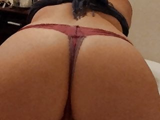 Penny Sterling ass stretching in a thong