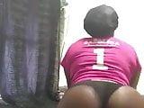 Round Booty Black Girl Twerking
