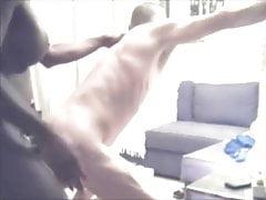 Black trans girl fucking her slave part one
