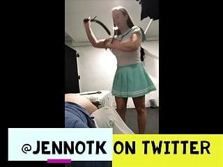 Mommy Jenn spanks naughty boy - cosplay outfit