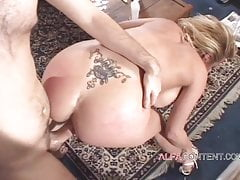 Hot and busty MILF gets her pussy drilled hard
