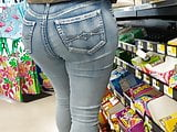 REAL OR FAKE ASS IN JEANS