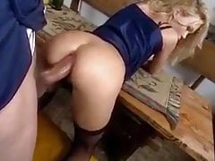 Horny Wife Enjoying Massive Cock in Her Tight Ass