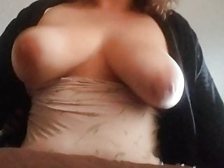 BBW MILF with big natural tits gets it from behind