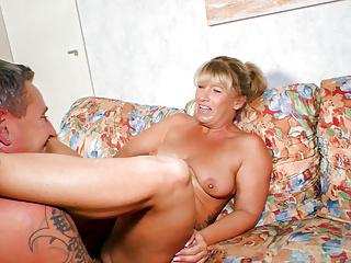 AMATEUR EURO - Hot Mature Annette Liselotte Gets Deep Fucked