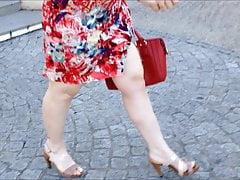 nice dress and heels