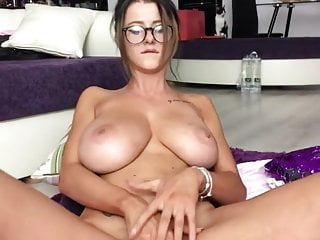 Big Tits College Girl Masturbates