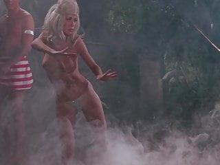 The Golden Goddess- vintage 60s nude dance