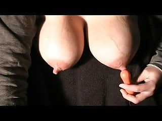 Big titted MILF dripping and squirting milk