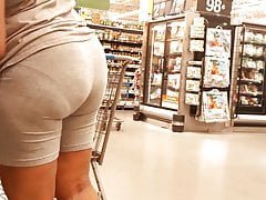 Juicy African bOOty Gray Tight Shorts.