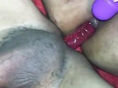 Mutual bisexual indian anal dildo