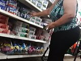 Thick phat booty spanish milf in Dollar Tree 2