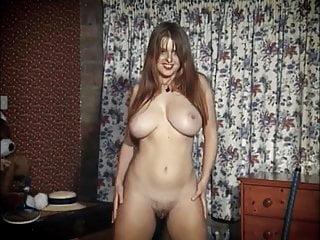 PEACHES - huge natural tits tease