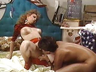 Red hot 80s slut has nice straight sex