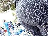 Madura culona en leggins
