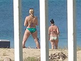 Puerto Rican milfs asses at the beach