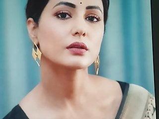 Hina Khan Cum Tribute #2