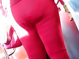 Royal Thyckness whole in her red tights, pt.3