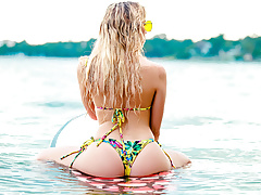 Bubble Butt Beach Slut Khloe Kapri And Her Big Cocked BF