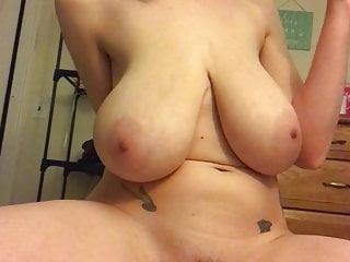 Huge breasts Goddess dildo