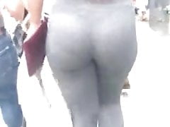 See through jiggly booty