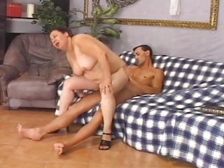 FAT HAIRY BBW MATURE GRANNY - Milly - 2006 - Vintage