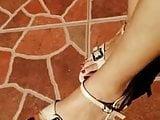 Sri Lankan beautiful Feet with Heels 02