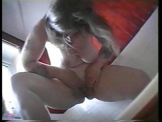 busty shaved mature enjoys sex