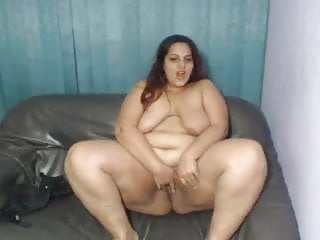 Bbw Trini Masturbating on Cam