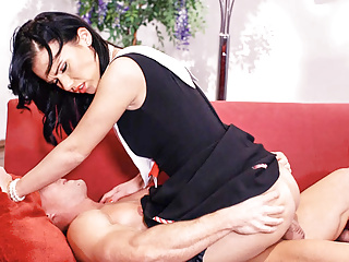 VipSexVault - Hot PinUp Hungarian Denise Sky Rides BFs Cock