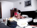 maid with tight pussy makes boss cum