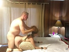Innocent Teen Used Hard By Her New Owner of an Apartment